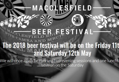 Macclesfield beer festival 2018